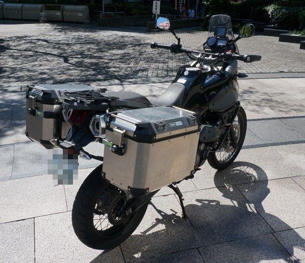 XT660Zバックショット
