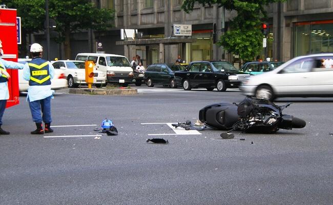 バイク事故には注意しよう