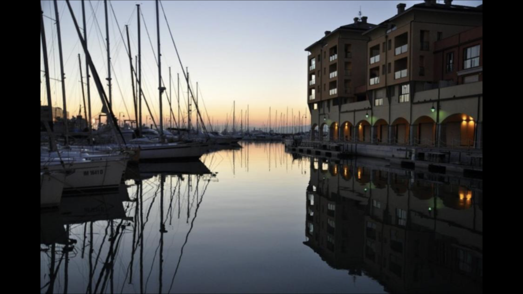ジェノバの港