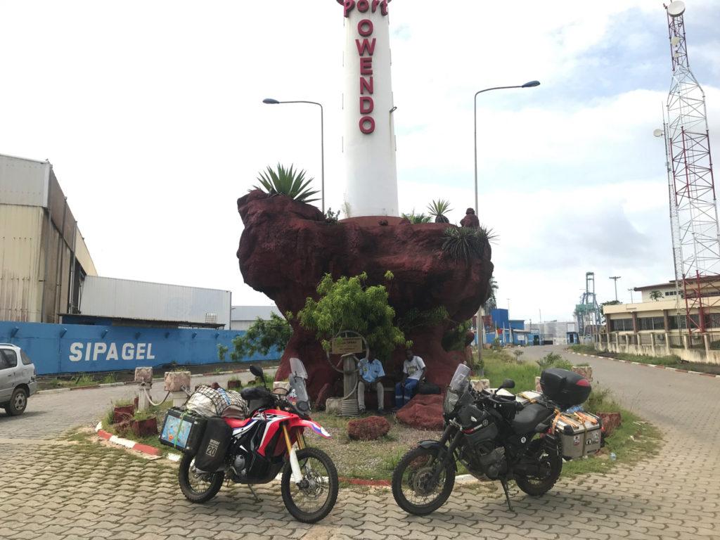 Port Owendo出発
