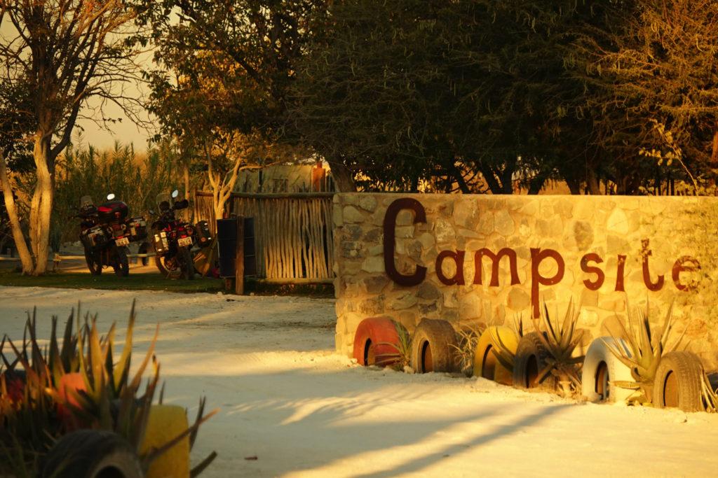 ナミビアはキャンプ天国