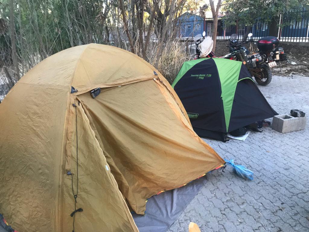 本日のお宿(キャンプ)