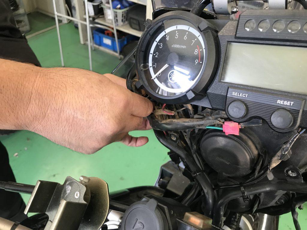 XT660Zフロントグリル