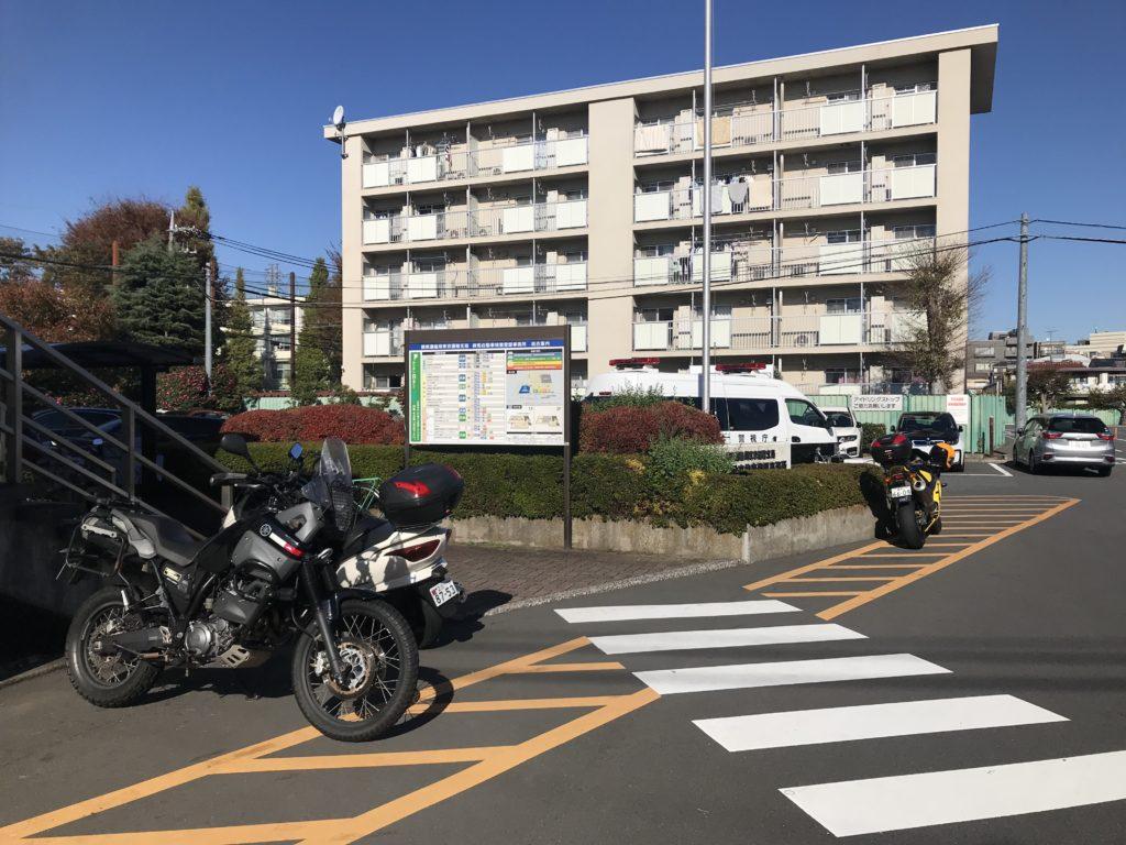 練馬陸運局バイク車検