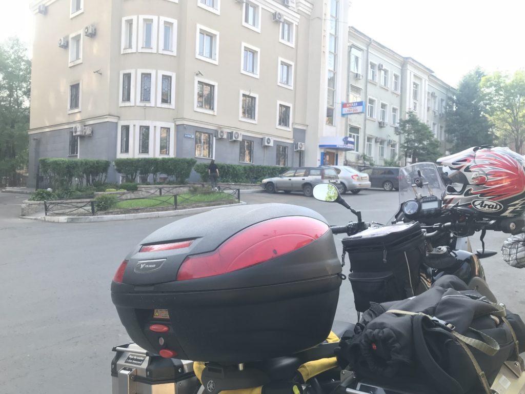 ハバロフスクのGHへ到着