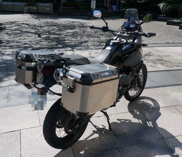 xt660z GIVI TREKKER OUTBACK 48L