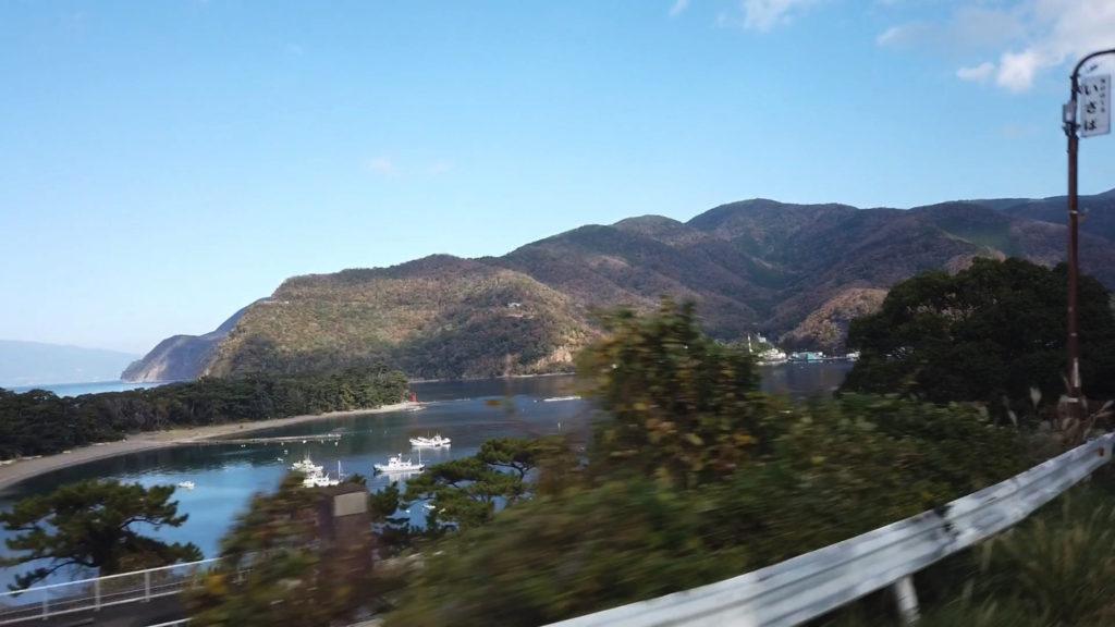 戸田へ到着した
