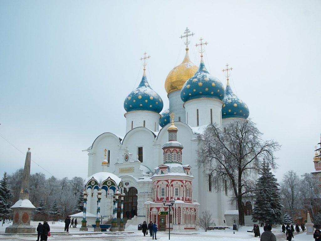 冬のロシア