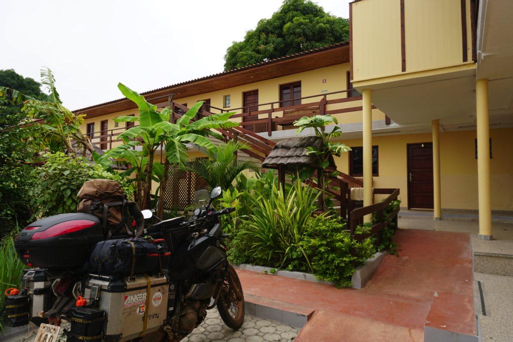 アンゴラの宿