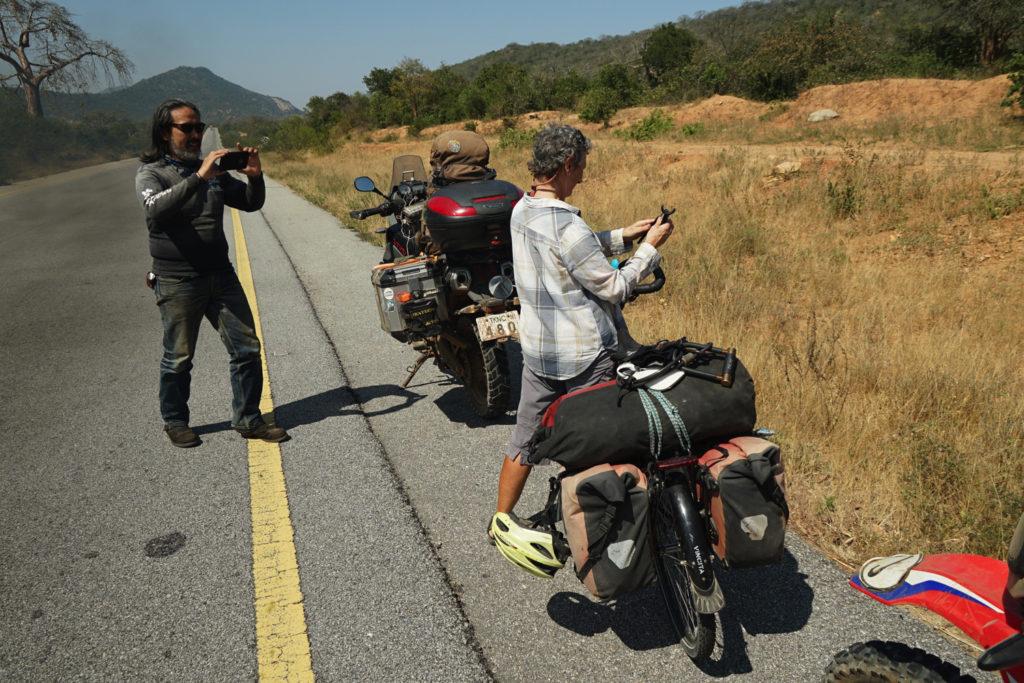 女性サイクリスト