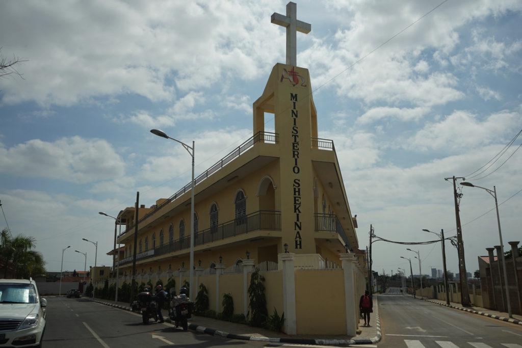 アンゴラの教会