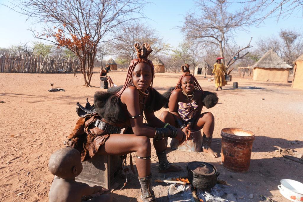 ヒンバ族の絶世の美女