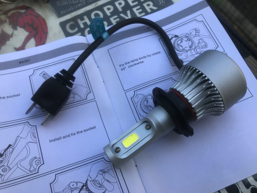 LEDライト本体(側面)