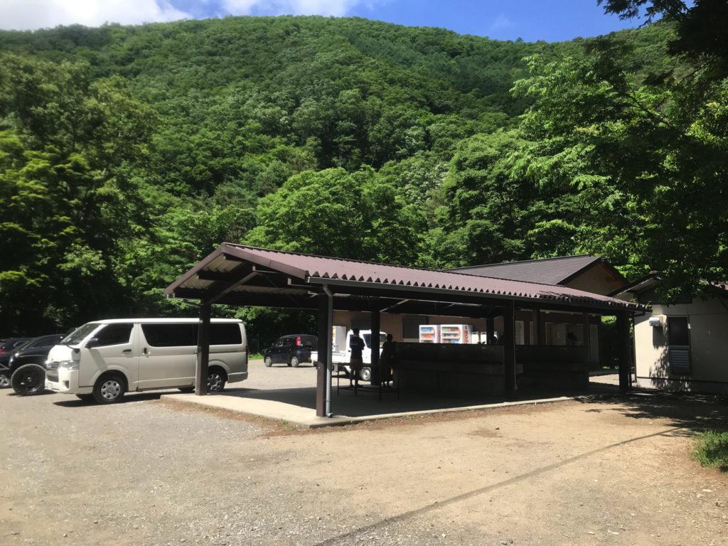 浩庵キャンプ場 炊事場