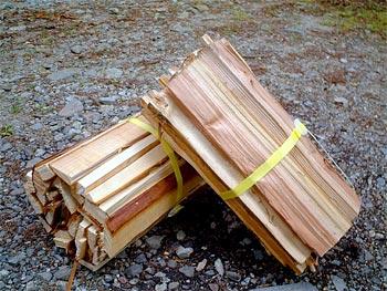 道志の森で薪は購入できる