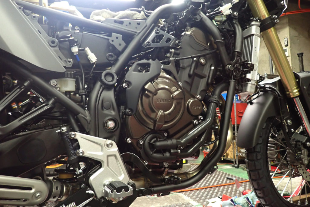 テネレ700のエンジン