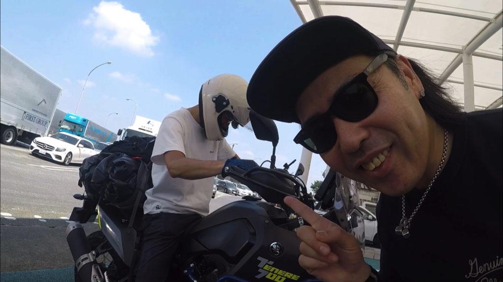 額賀氏とテネレ700