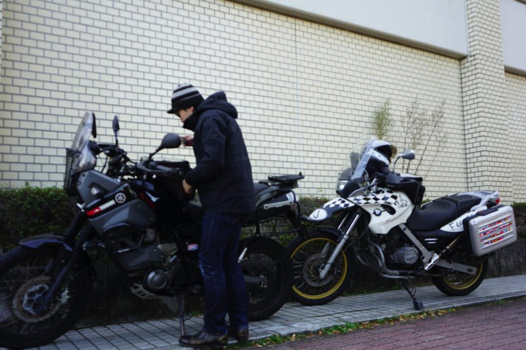 川越駄菓子屋横丁へ向かう(駐車場)